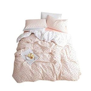 New reversible twin duvet cover and 2 pillow cases
